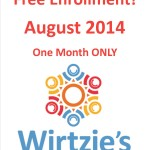 Free Enrollment in August!